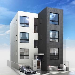 渋谷区本町共同住宅新築工事