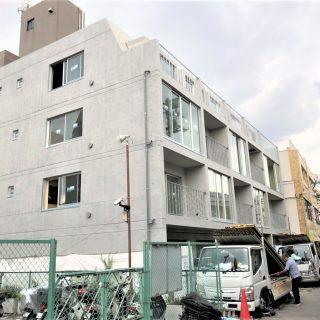 東大井マンション新築工事